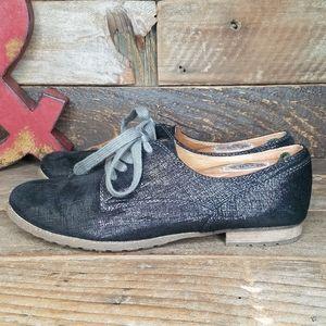 Stylish Naya Tiber Oxford Leather Lace Up Shoes